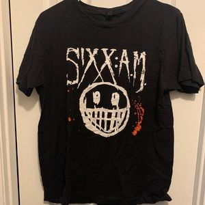 Sixx AM 2015 Tour Tshirt